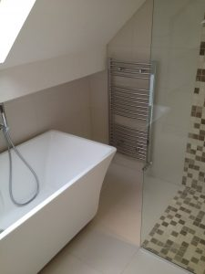 Loft conversion with en suite in Wilmslow