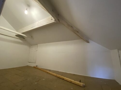 Picture of a storage room in the loft space